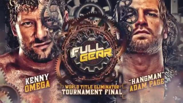 Kenny Omega vs Hangman en AEW Full Gear