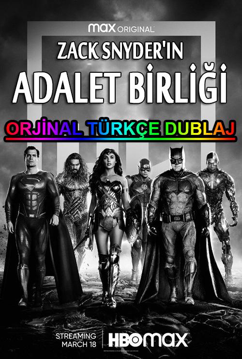 Zack Snyder'ın Adalet Birliği | 2021 | BDRip | XviD | Türkçe Dublaj | 1080p - m720p - m1080p | BluRay | Dual | TR-EN | Tek Link