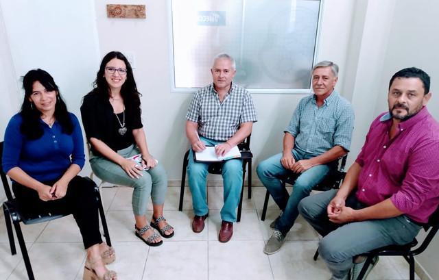 RIEHME SE REUNIÓ CON EL SEC. DE PRODUCCIÓN DEL MUNICIPIO DE GUALEGUAYCHÚ