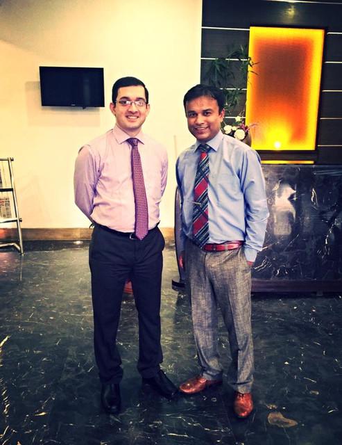 with Dr Ashith Acharya