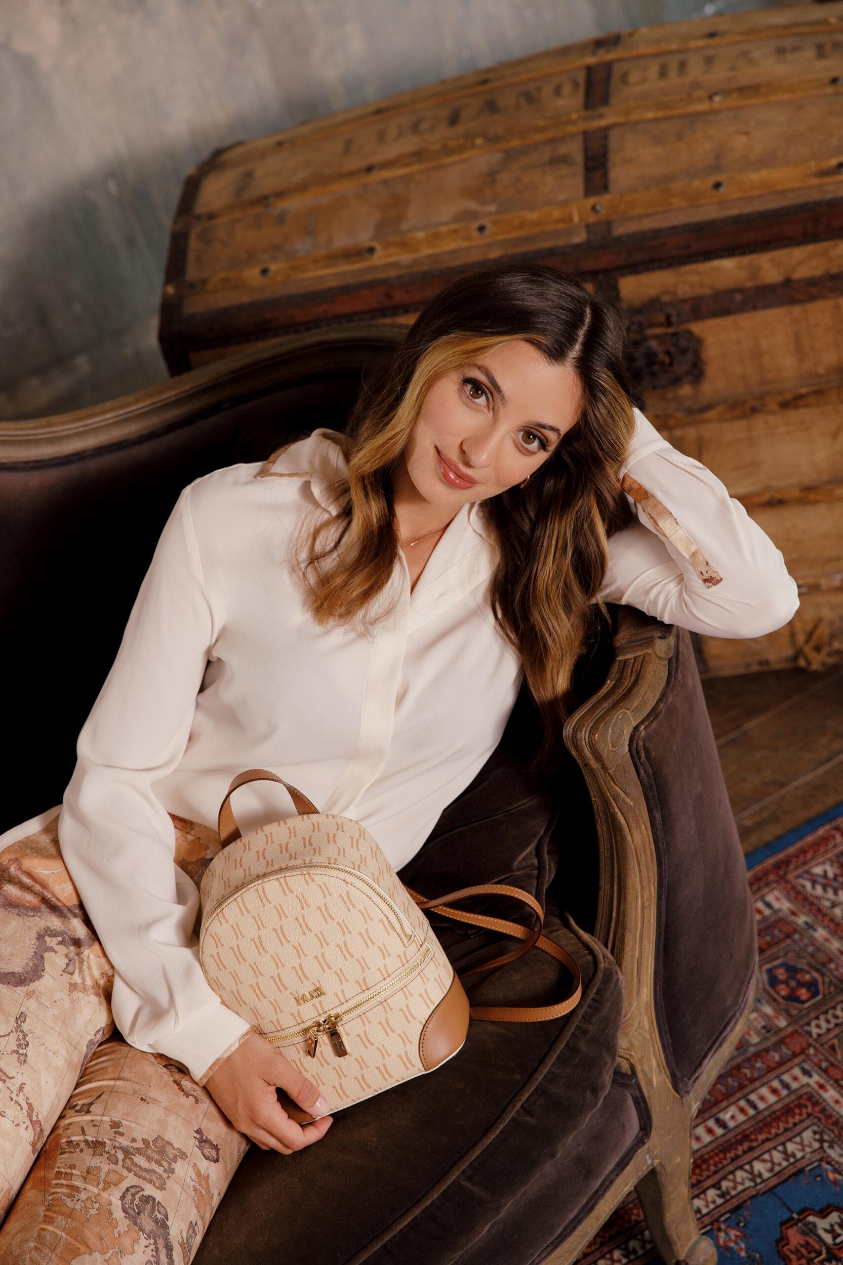 Alviero Martini, Rossella Fiamingo è il volto di 1A Classe Monogram 2021