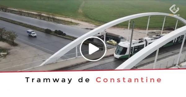 Avancement des travaux, Tramway de Constantine