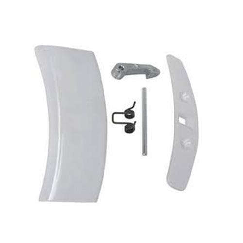 Kit Maniglia Leva Porta Oblò Lavatrice Rex Electrolux AEG 50292022006 Originale