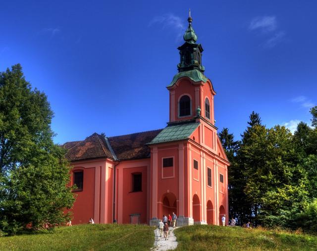 Marko kostanjevec cerkev sv marije na roniku