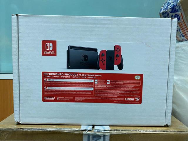 Les différents pack Switch Refurb-Rouge