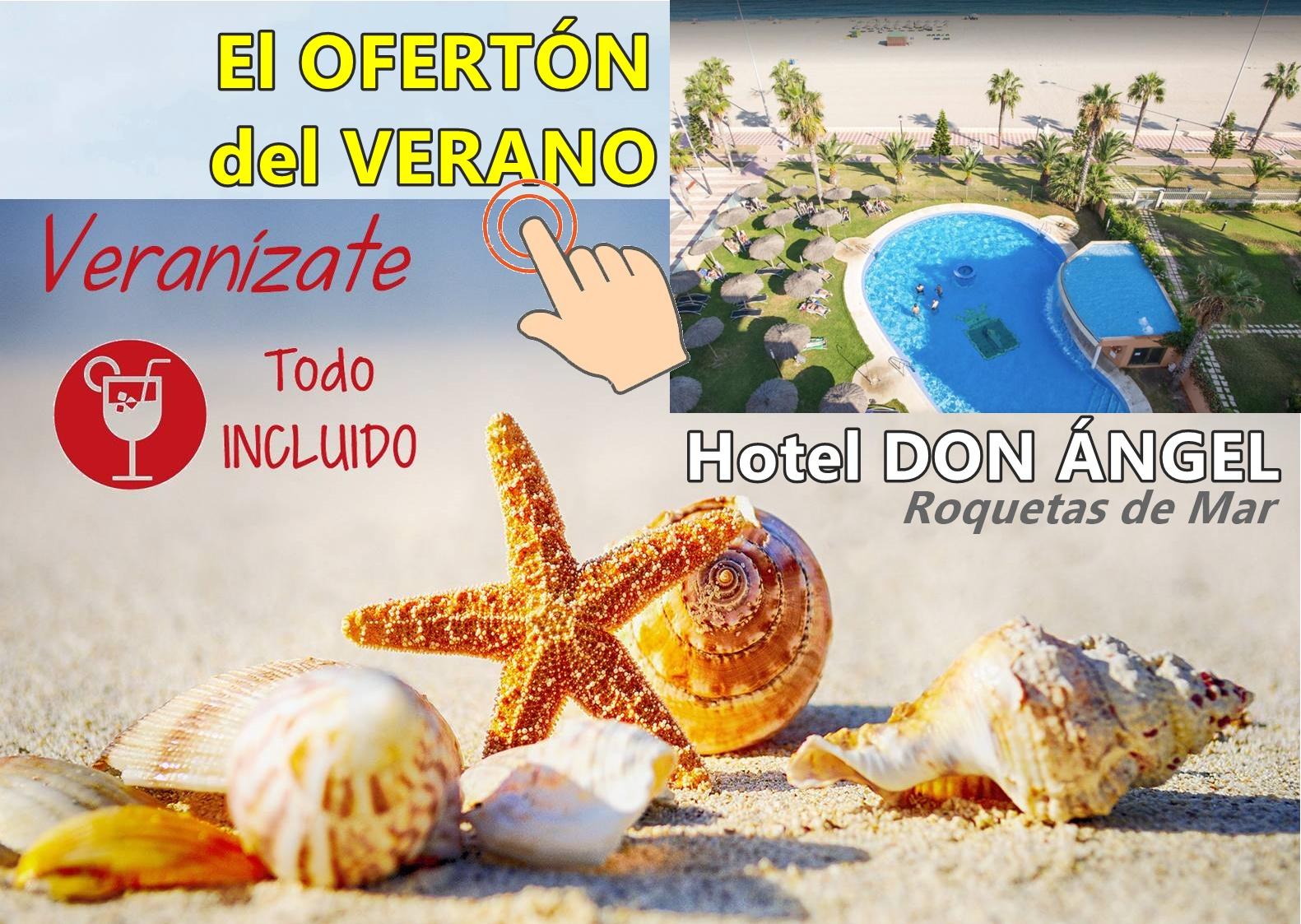 Chollo del verano con Viajes MundiPlayas en Hotel DON ANGEL 4* Roquetas