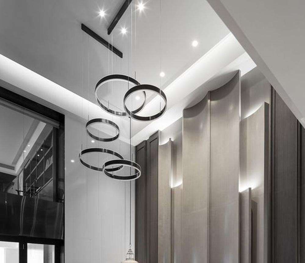 Lampu Rumah Giant Ring Lamp