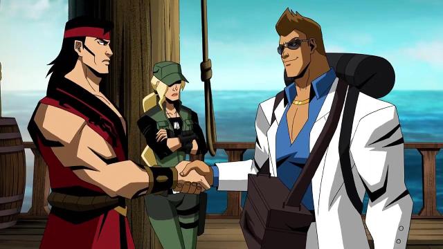 Mortal Kombat Legends Scorpion S Revenge Clip Sees Johnny Cage