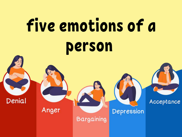 five-emotions-of-a-person