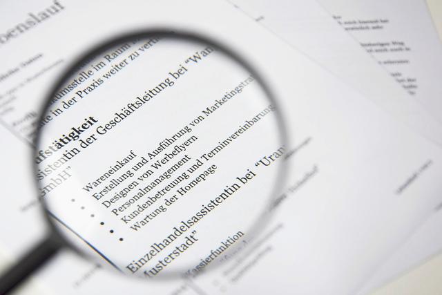 Creating a CV Online