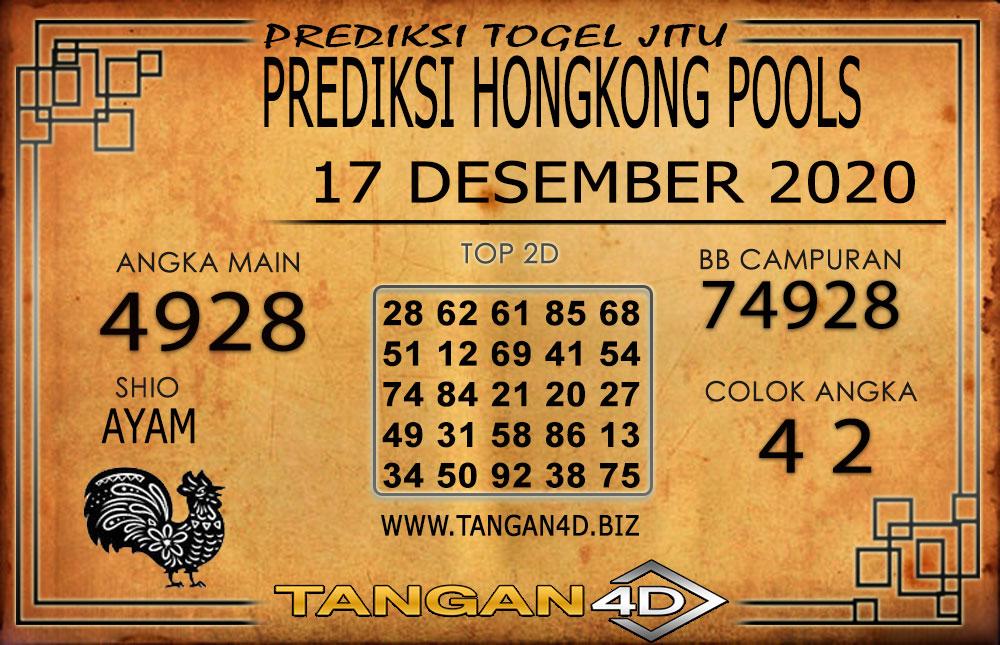 PREDIKSI TOGEL HONGKONG TANGAN4D 17 DESEMBER 2020