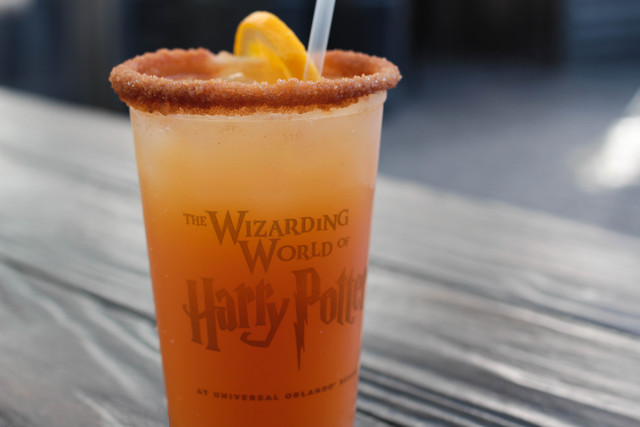 Otter's Fizzy Orange Juice at The Wizarding World of Harry Potter