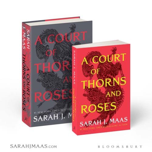 Novas edições da saga Corte de Espinhos e Rosas