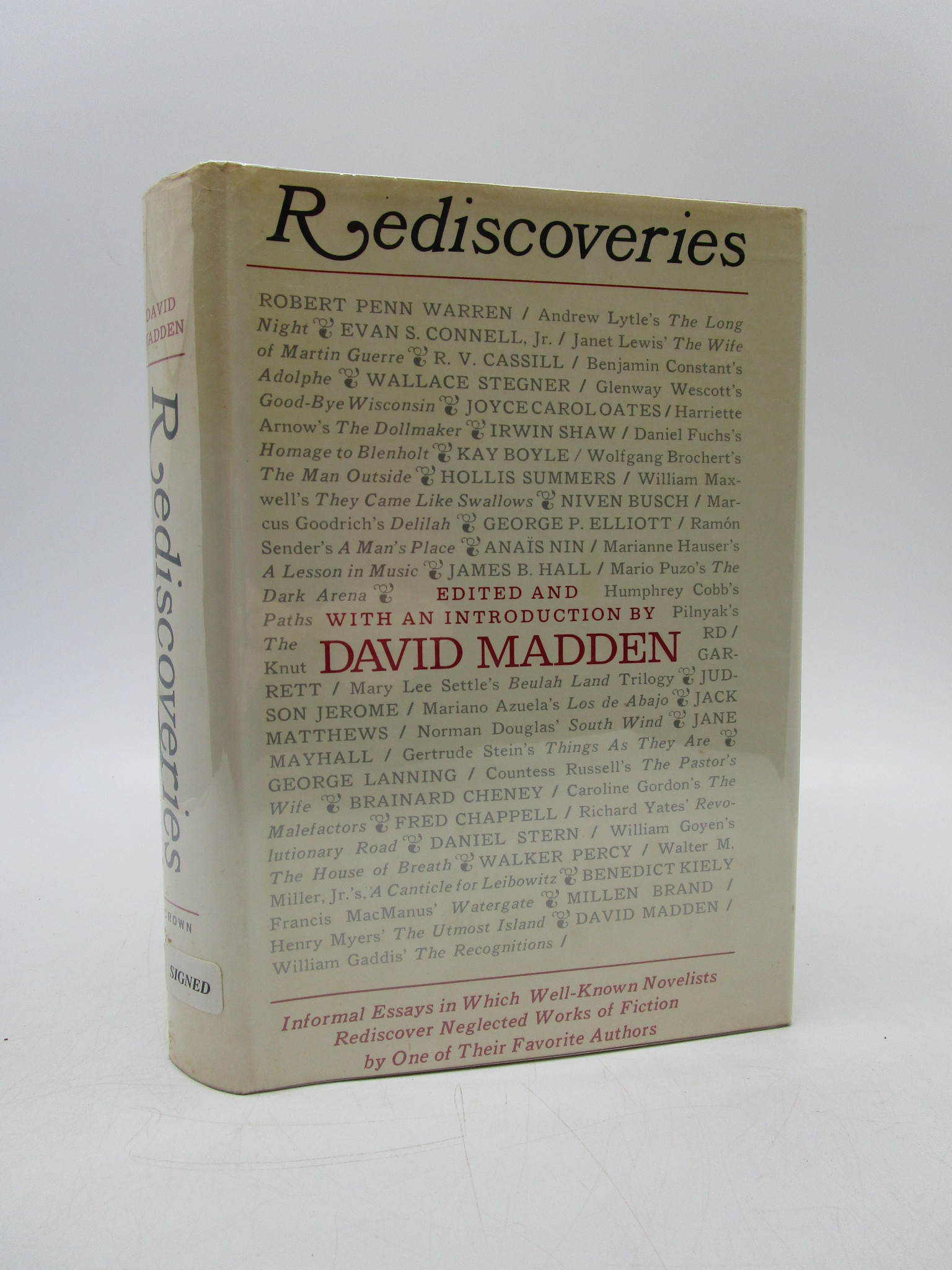 Image for Rediscoveries (Signed First Edition)