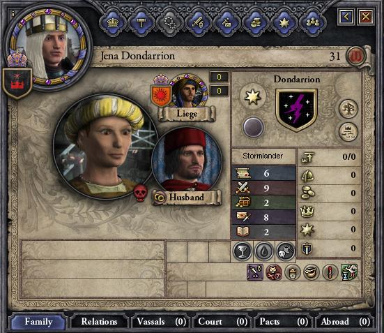 Jena Dondarrion murdered.