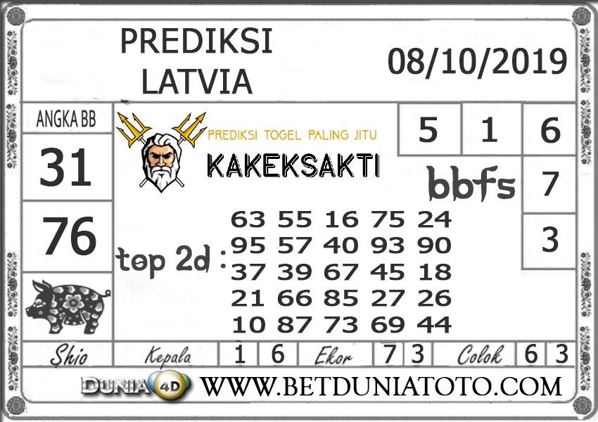 """Prediksi Togel """"LATVIA"""" DUNIA4D 08 OKTOBER 2019"""