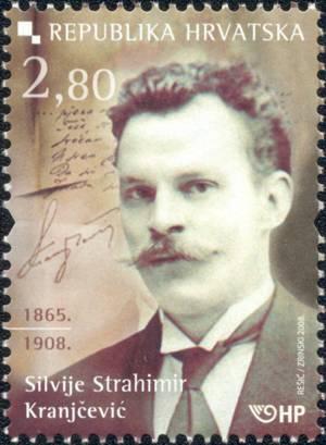 2008. year ZNAMENITI-HRVATI-SILVIJE-STRAHIMIR-KRANJ-EVI-1865-1908