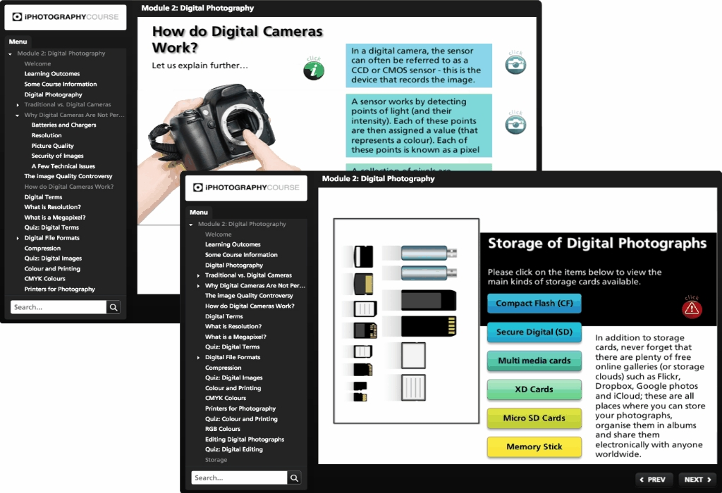 Digital Photography Courses