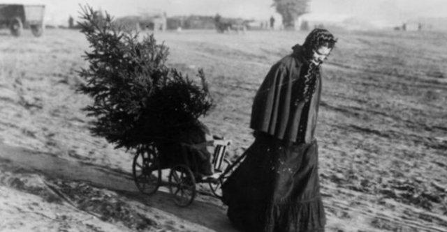 Рождественские фотографии 1895 — 1930 годов