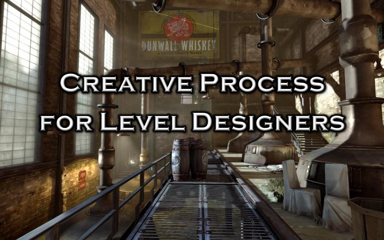 Creative Process for Level Designers Icon