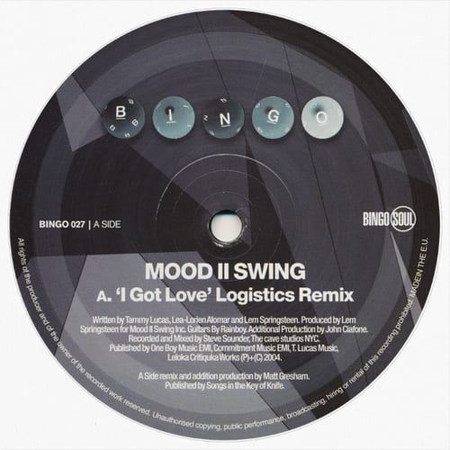 Mood II Swing - I Got Love (Remixes)