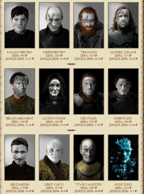 СКАМ game-of-thrones.biz - Игра престолов, экономическая онлайн игра, с возможностью заработка денег Image