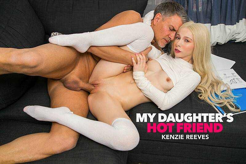 Kenzie Reeves, Michael Stefano – My Daughter's Hot Friend – Naughty America