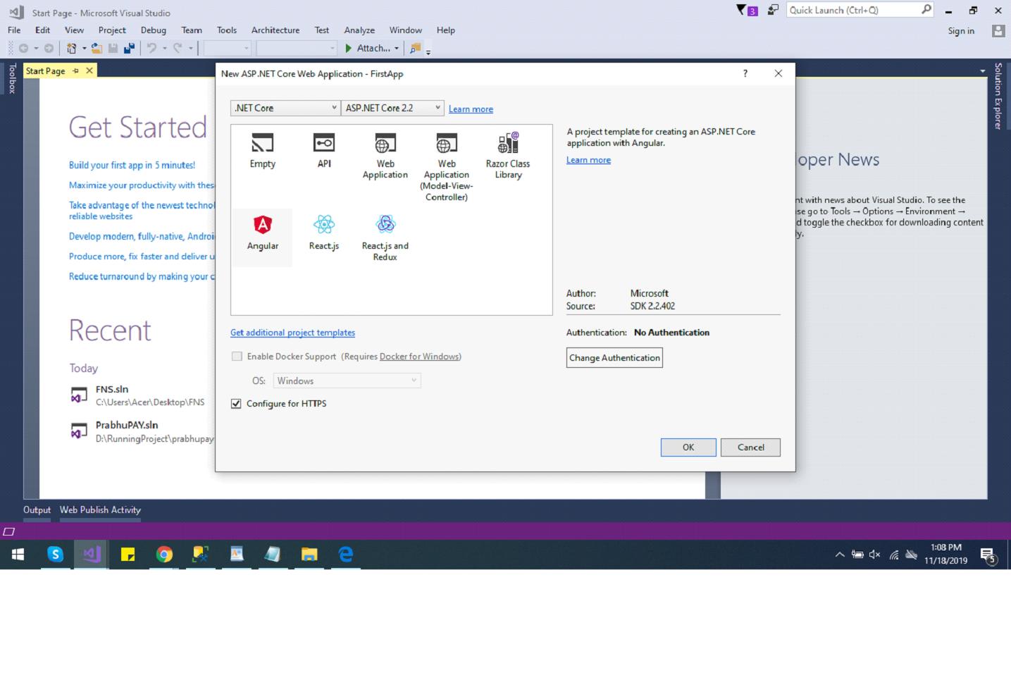 CRUD Application In asp.net Core 3.1 || Entity Framework Code First