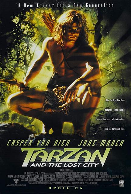 Tarzan and the Lost City (1998) Dual Audio Hindi 720p WEB-DL x264 AC3 1.2GB Download