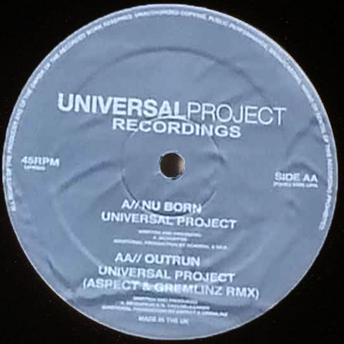 Universal Project - Nu Born / Outrun (Remix) 2006