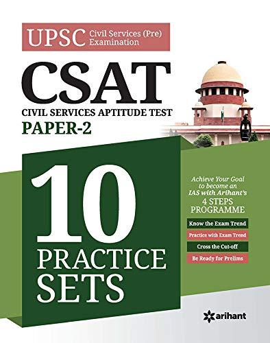 10 Practice Sets CSAT Civil Services Aptitude Test Paper 2 2020