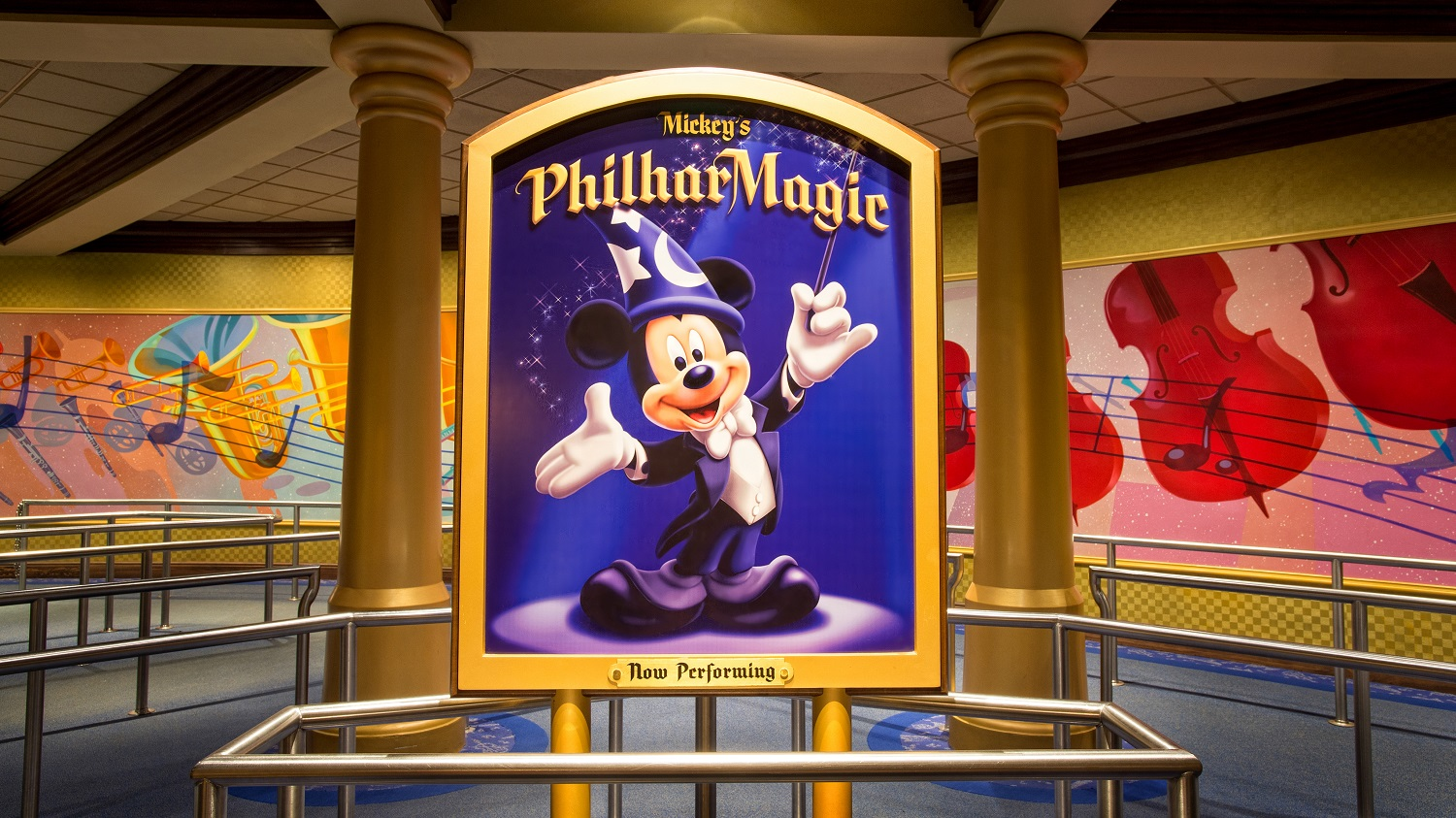 Mickey's Philharmagic show at Disneyland Paris