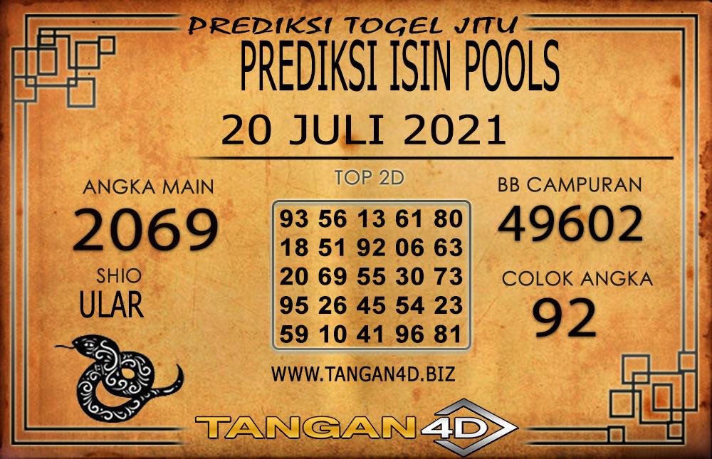 PREDIKSI TOGEL ISIN TANGAN4D 19 JULI 2021