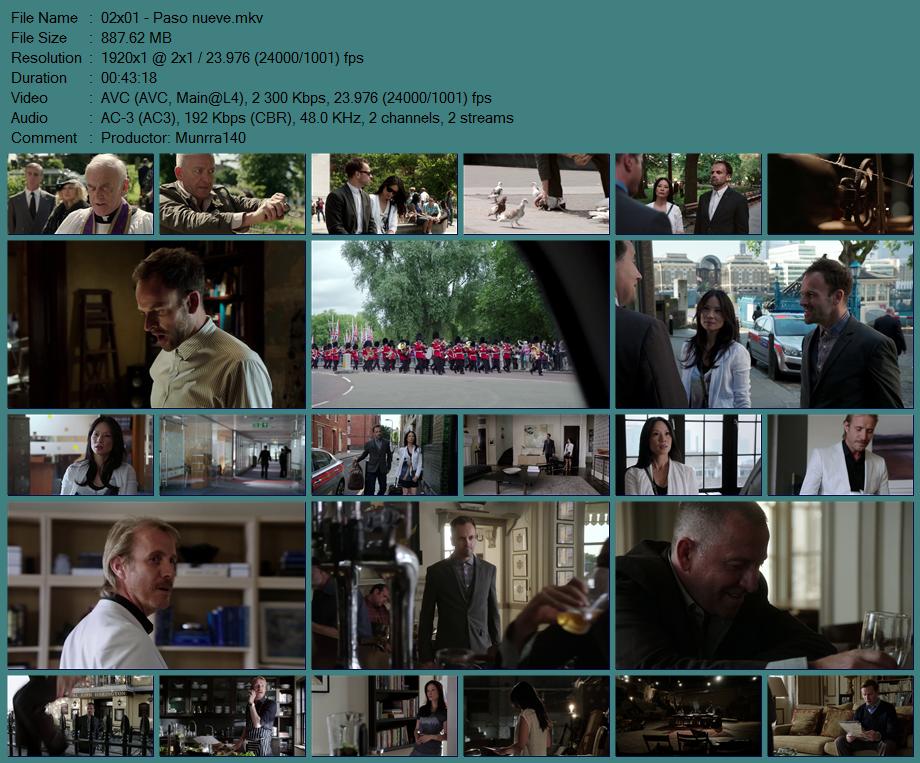 Elementary Season 2 1080p x264 Dual Latino MKV