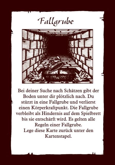Schatz-Fallgrube
