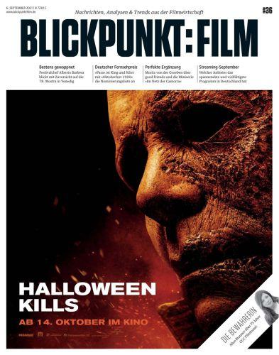 Cover: Blickpunkt Film Magazin No 36 vom 09  September 2021
