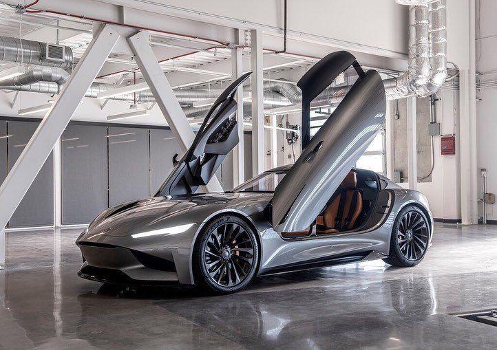 Karma SC2 Coupe Concept (Los Angeles 2019) 12