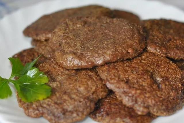 оладьи из печени говяжьей рецепт
