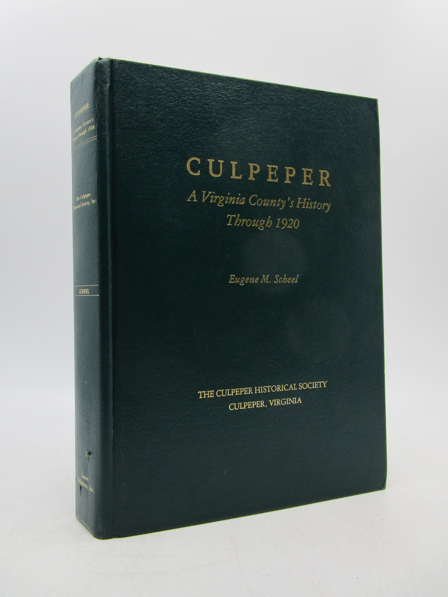 Image for Culpepper: A Virginia County's HIstory Through 1920