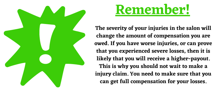 severe losses compensation tips