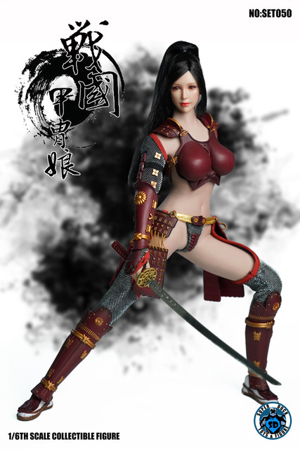 SUPER DUCK New Product:1/6 Sengoku Period Armored Female Warrior SET050 170530sa634pyi9f4s4f3g