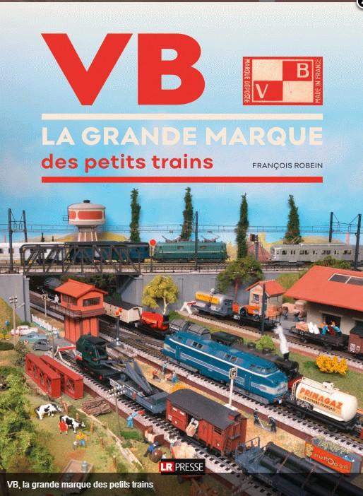 "Livre ""La grande Marque des petis Trains"" Livre-VB-Fran-ois-Robein"