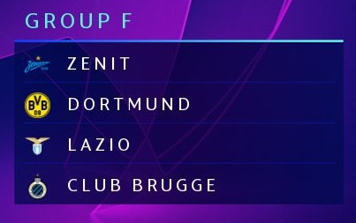 Champions League 2020/21 | Group F Girofo
