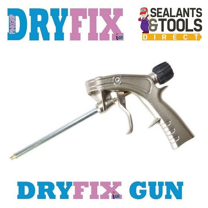 Everbuild PinkGrip DryFix Applicator Gun Dry Fix DRYGUN