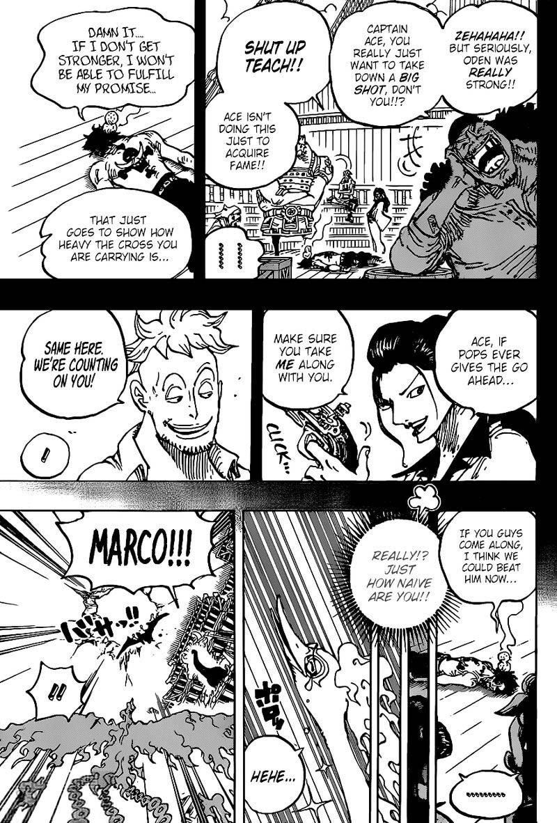 One Piece Manga Chapter 999 - 011