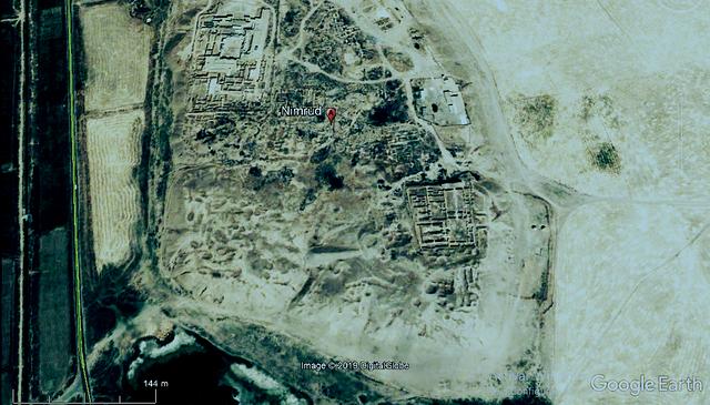 elefantes y escaleras Nimrud11