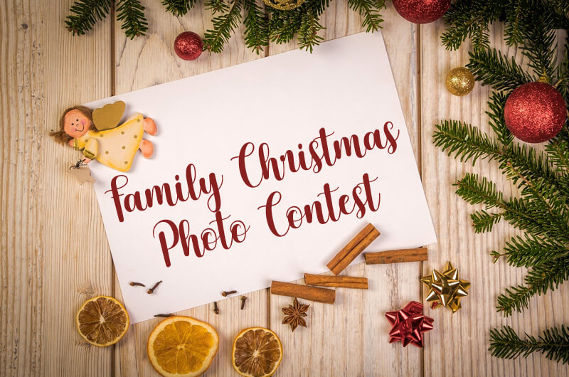 Family Christmas Photo Contest