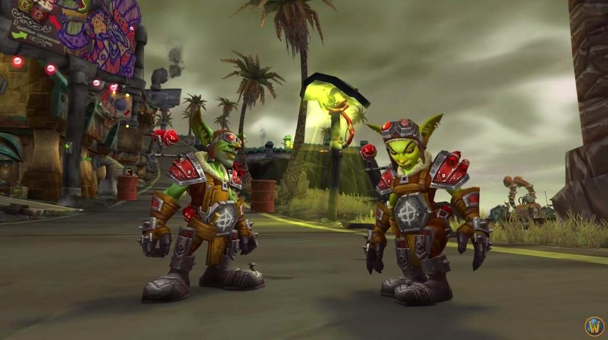 WoW 8.3 Goblin Heritage Armor Set boosting service RUSHBOOST