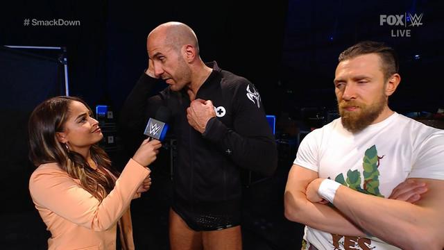 Cesaro y Daniel Bryan Elimination Chamber SmackDown 12 Febrero