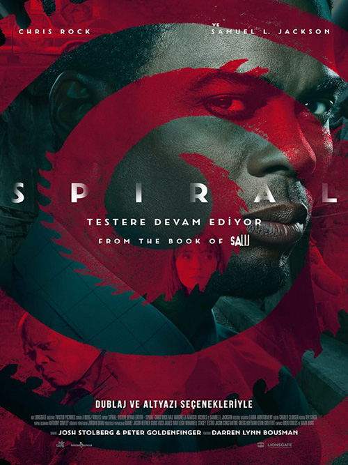 Spiral: Testere Devam Ediyor | 2021 | m720p - m1080p | BluRay | Türkçe Altyazılı | Tek Link